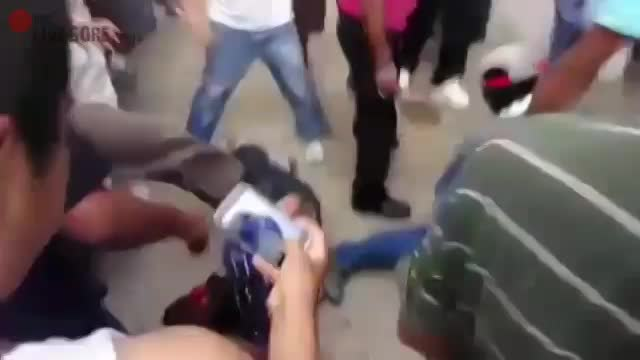 FUCK! EVEN 'STREET JUSTICE' SHOULDN'T GO THIS FAR - LiveGore.com ▶