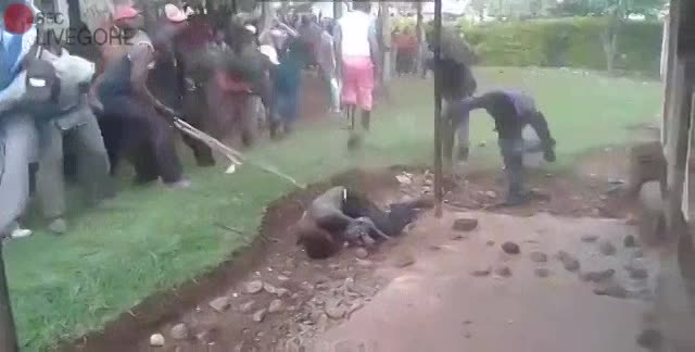 Alleged Thief Brutally Beat & Stoned To Death - LiveGore ...